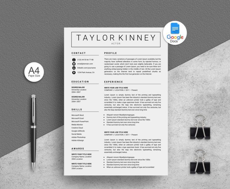Creative-Google-Docs-Resume